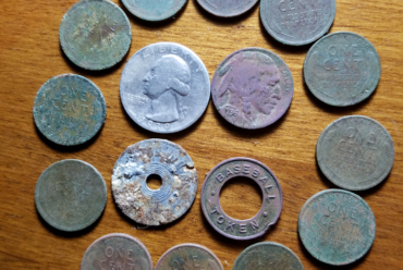 17 April metal detecting hunt