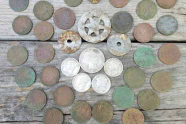 Last week of April metal detecting hunt report